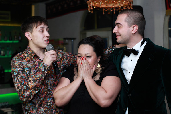 Участники Дома-2 на дне рождения Диларам Сапаровой