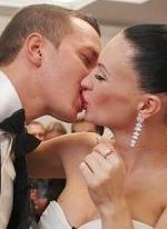 Полное видео свадьбы Гусевых и тот самый похабный конкурс из шариками