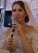 Сколько стоит свадебное платье Ксении Собчак