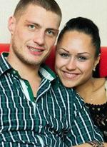 Александр Задойнов и его новая девушка