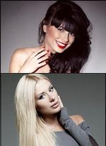 Анастасия Ковалева и Нелли Ермолаева сражаются за бриллианты