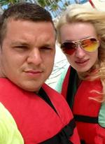 Фото с отдыха Антона и Евгении Гусевых в Доминикане