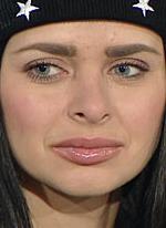 Виктория Романец лысеет