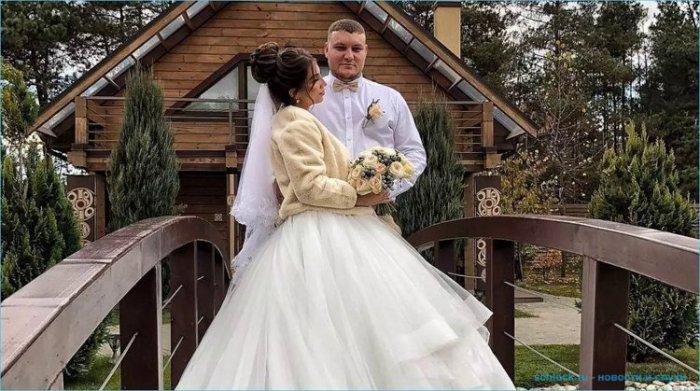 Вчера Богдана Николенко вышла замуж за Дмитрия Кварацхелия