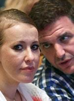 Слухи о расставании Ксении Собчак с мужем