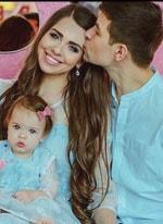 Как на самом деле назвали свою дочь Дмитрий и Ольга Рапунцель