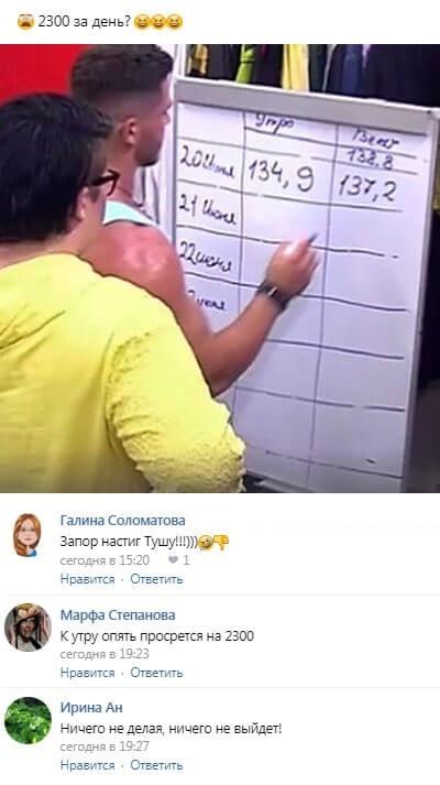 Александра Черно шокировала набранными килограммами
