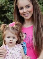 Ольга Рапунцель жалеет денег на безопасность своей дочери